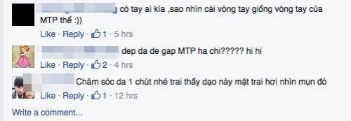 Không ít người hâm mộ cho rằng chính Sơn Tùng đang chụp ảnh cho Thiều Bảo Trâm.