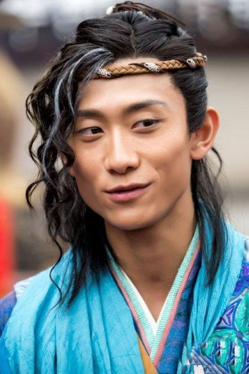 Trương Nhất Sơn trong dự án điện ảnh Đoạt lộ nhi đào.