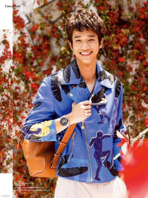 Chàng hoàng tử nụ cười Lưu Dĩ Hào.