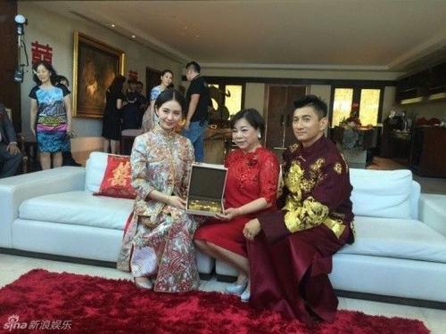 Lưu Thi Thi được cha mẹ chồng tặng của hồi môn sáng giá.