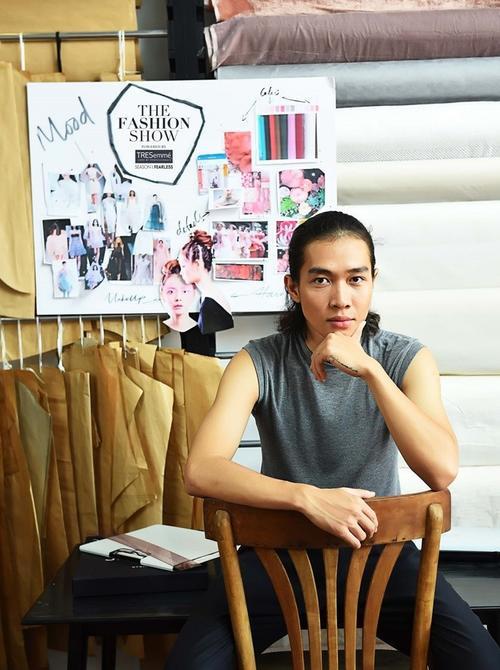 Hoàng Tú là 1 trong 5 NTK sẽ tham gia chương trình The Fashion Show power by TRESemme.
