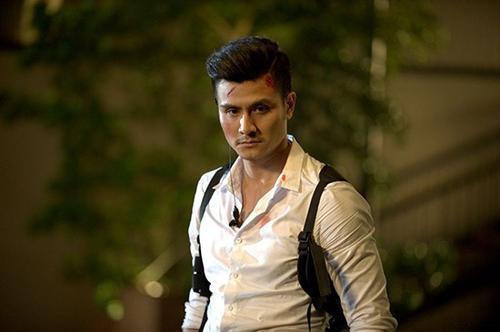 """Vĩnh Thụy tự tin với vai diễn trong bộ phim """"Truy sát"""" sẽ thành công."""