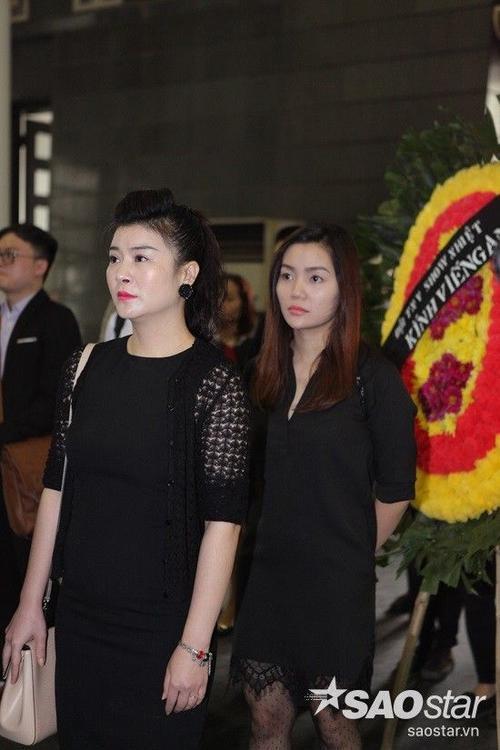 NSƯT Kim Oanh và ca sĩ Ngọc Anh.