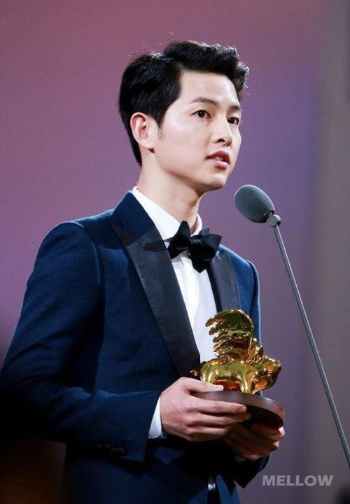 Giải thưởng cinh danh sự ảnh hưởng của Song Joong Ki.