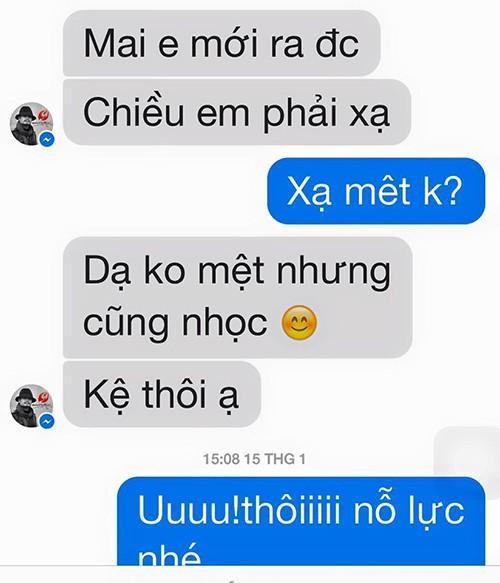 Thanh Lam động viên Trần Lập cố gắng vượt qua cơn bạo bệnh.