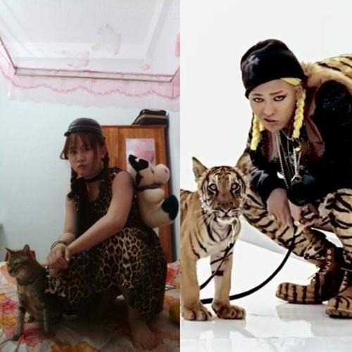 Oppa có hổ thì em cũng có ... tiểu hổ.