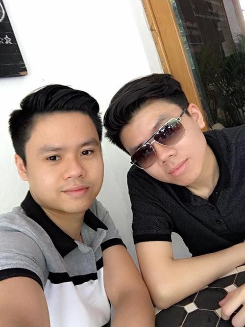 Phan Thành và em trai Phan Hoàng.