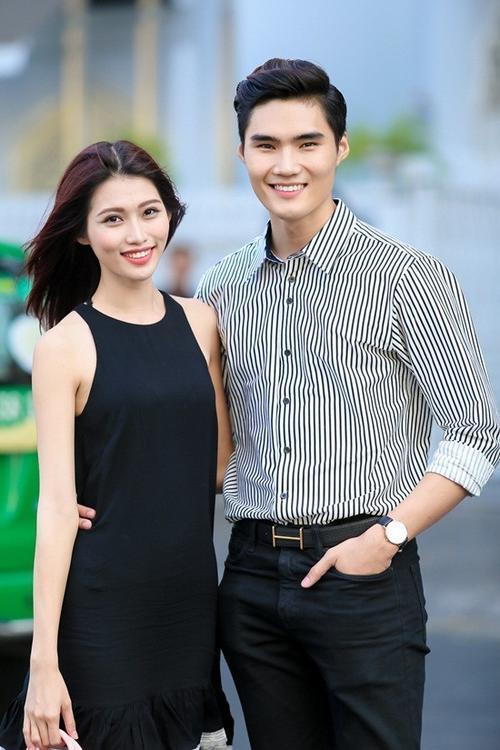 Quán quân Vietnam's Next Top Model 2014 chia sẻ, anh luôn ủng hộ bạn gái làm đẹp và bản thân cũng thường tìm hiểu những kiến thức chăm sóc da đúng cách.