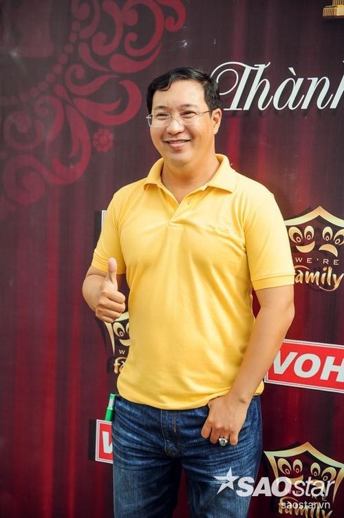 Nghệ sĩ Hà Linh - con trai cố NSƯT Thanh Nga.