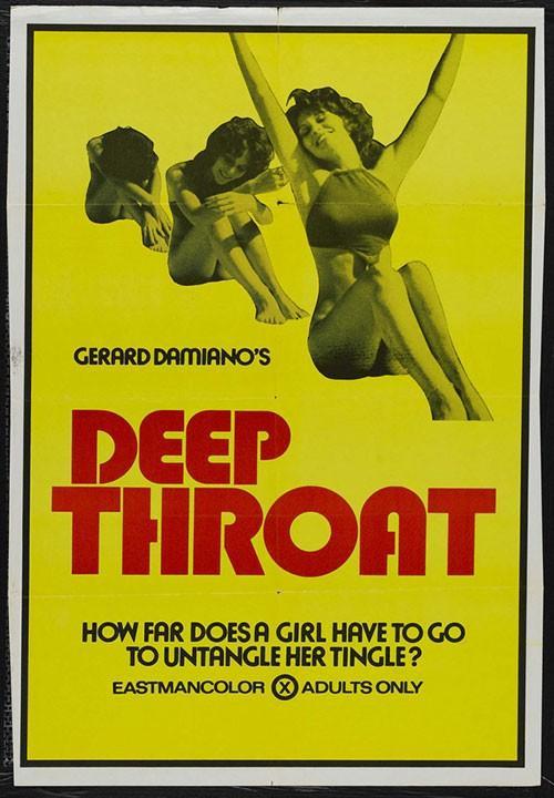Poster phim Deep Throat.