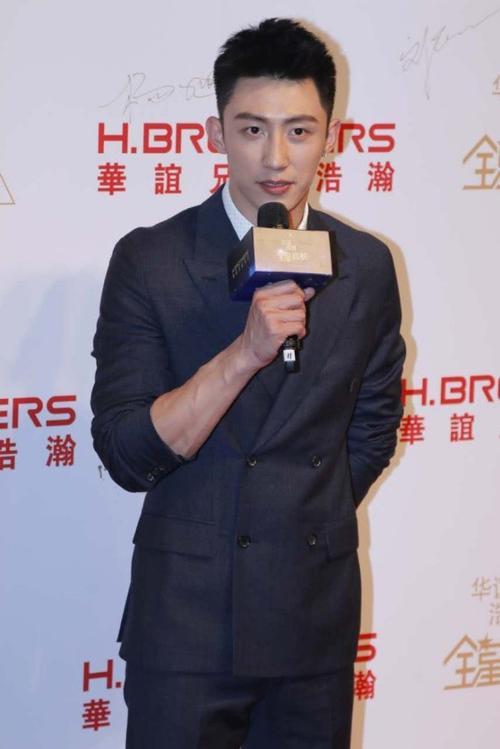 Hoàng Cảnh Du nổi bật trên thảm đỏ.