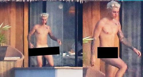 Đầu tháng 10/2015, Justin Bieber có kỳ nghỉ ở Bora Bora với bạn gái tin đồn lf người mẫu Jayde Pierce. Những hình ảnh giọng ca What Do You Mean? đi lại trong trạng thái không mảnh vải che thân tại căn villa riêng bị phóng viên ảnh của New York Daily chụp lại. Đội ngũ của nam ca sĩ sau đó đã phải nhờ pháp luật can thiệp để tránh ảnh nude bị phát tán rộng rãi.