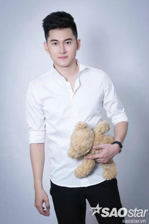 Hot boy Trần Nhật Vũ.