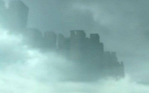 Năm ngoái, hình ảnh khung cảnh thành phố với hình bóng những tòa nhà chọc trời ẩn hiện trong mây đã từng gây xôn xao ở Trung Quốc.