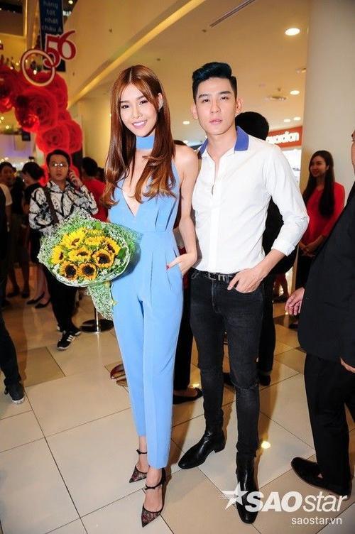 Kỳ Hân và Minh Trung cùng thuộc công ty người mẫu Venus với Ngọc Trinh.
