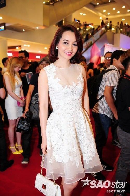 Nữ diễn viên Mai Thu Huyền.