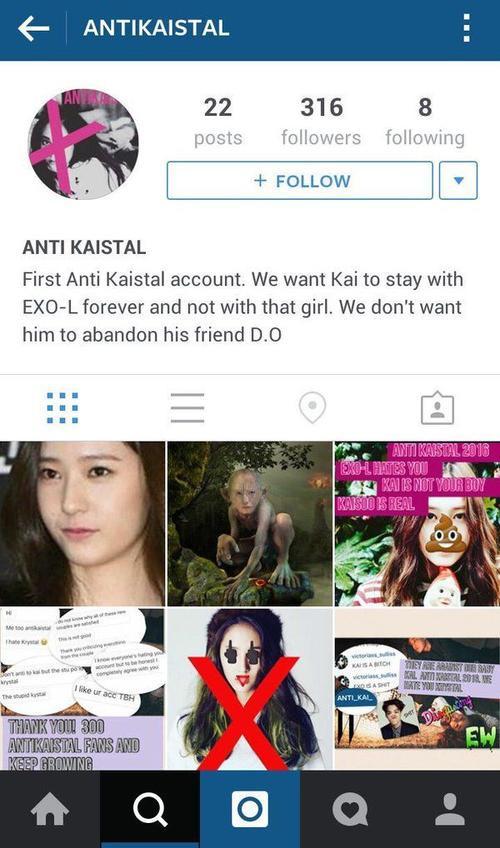 Tài khoản anti cặp đôi này với nhiều ảnh chế, ảnh dìm trên Instagram