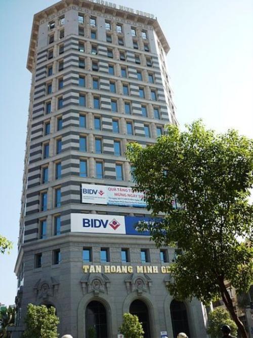Tân Hoàng Minh building tại số 290 Nam Kì Khởi Nghĩa, TP HCM.