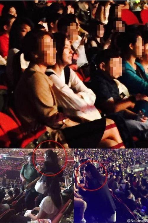 Min Hyo Rin đi xem concert Big Bang