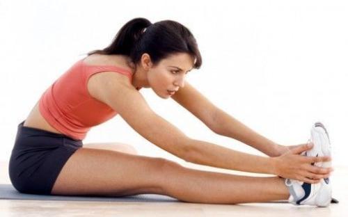 Kéo giãn cơ bắp.