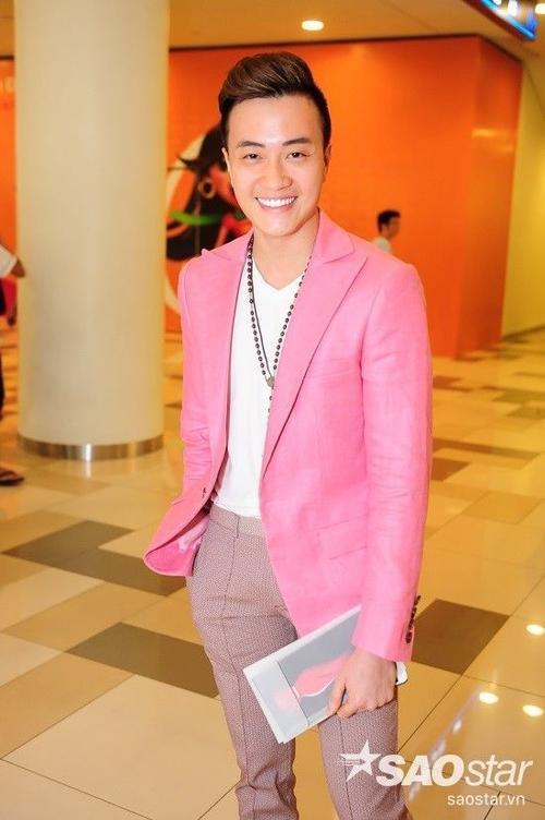 Lương Mạnh Hải trong buổi lễ công chiếu phim.