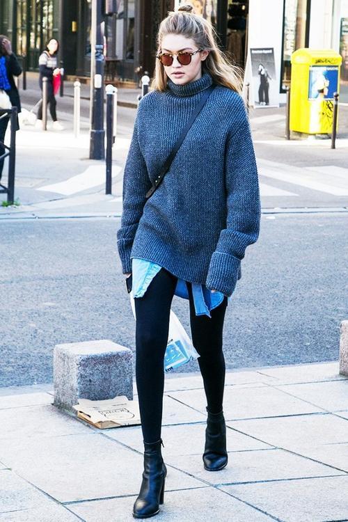 Thời trang: 2017 rồi, xin nhắc lại: Legging, tất lưới không phải 'cái quần'!