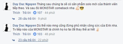 Giữa 'tâm bão', Aiden hé lộ thành viên mới và kế hoạch comeback của MONSTAR? - ảnh 3