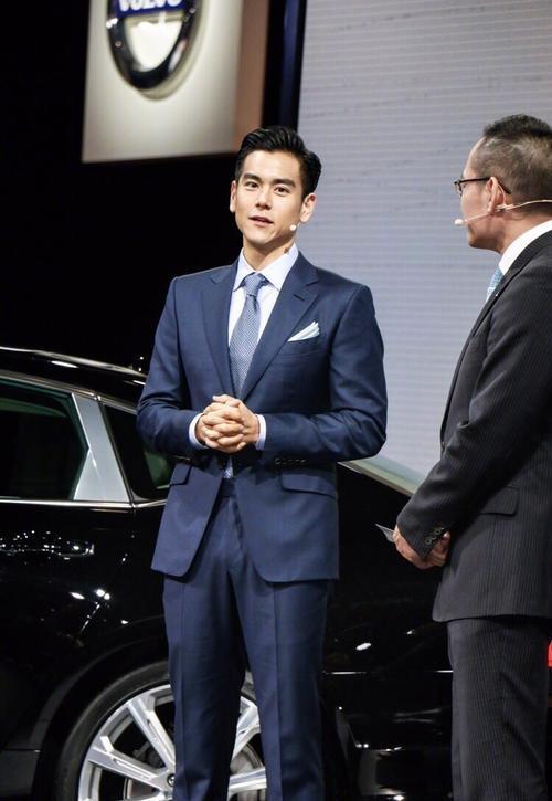 Lịch lãm như một quý ông, Bành Vu Yến đầy c.uốn hú.t tại sự kiện Volvo Thượng Hải. - ảnh 4