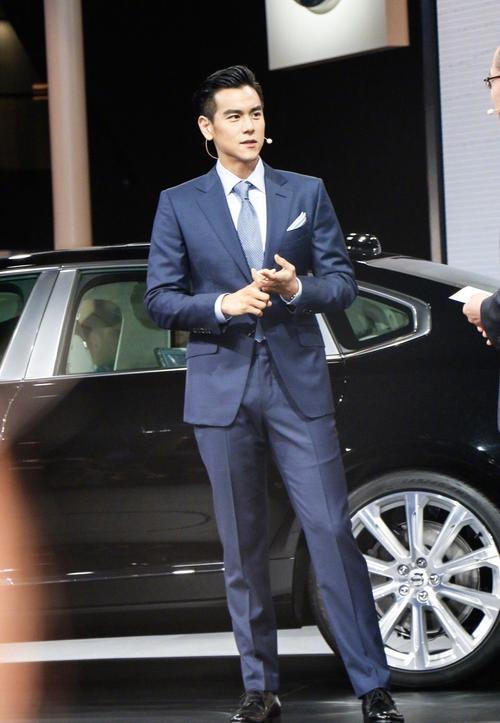 Lịch lãm như một quý ông, Bành Vu Yến đầy cuốn hút tại sự kiện Volvo Thượng Hải. - ảnh 3