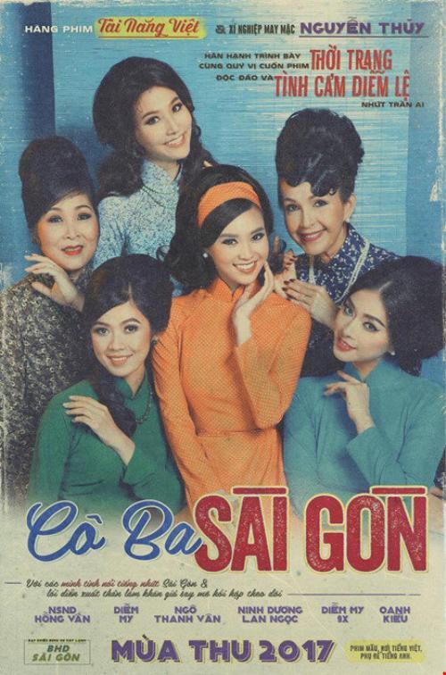"""Đông Nhi siêu nhắng nhít trong tà áo dài, lần đầu tiên trình diễn nhạc phim """"Cô ba Sài Gòn"""""""
