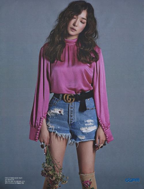 SNSD diện Gucci trên tạp chí 7