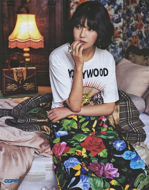 SNSD diện Gucci trên tạp chí 11