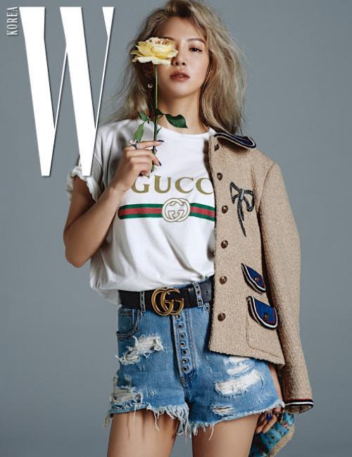 SNSD diện Gucci trên tạp chí 14