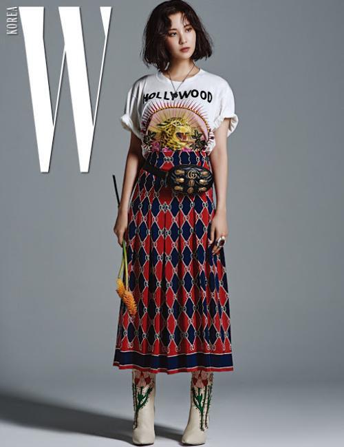 SNSD diện Gucci trên tạp chí 18