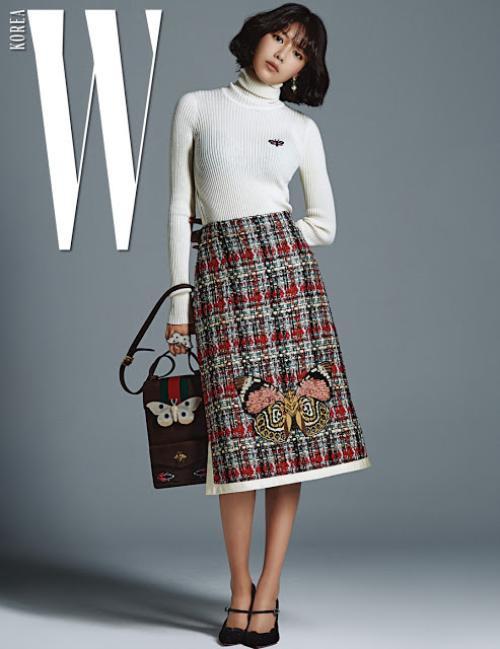 SNSD diện Gucci trên tạp chí 12