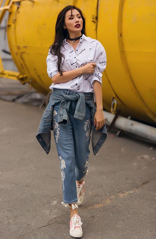 'Cô giáo Glee' Trương Nhi từ mặc xấu kỷ lục dần 'lột xác' ngày càng sang chảnh - ảnh 5