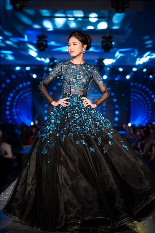 Kém sắc hơn Đặng Thu Thảo khi mặc chung váy, Hà Thu vẫn giành giải đồng thi tài năng - ảnh 5