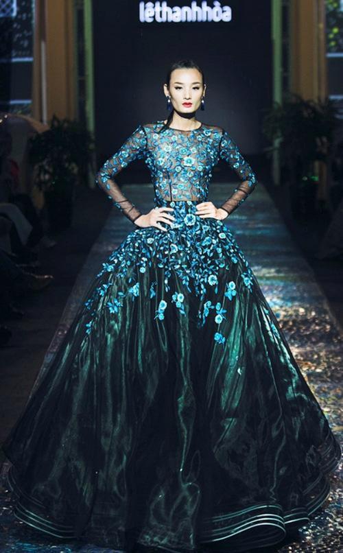 Kém sắc hơn Đặng Thu Thảo khi mặc chung váy, Hà Thu vẫn giành giải đồng thi tài năng - ảnh 6