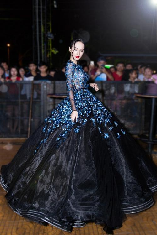 Kém sắc hơn Đặng Thu Thảo khi mặc chung váy, Hà Thu vẫn giành giải đồng thi tài năng - ảnh 7