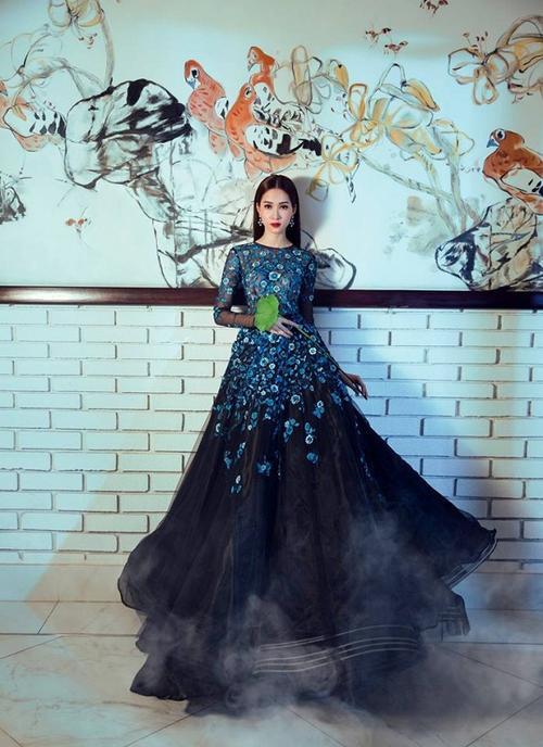Kém sắc hơn Đặng Thu Thảo khi mặc chung váy, Hà Thu vẫn giành giải đồng thi tài năng - ảnh 4