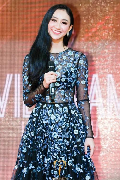 Á hậu Hà Thu tiếp tục giành huy Vàng phần thi Resort Wear tại Miss Earth 2017 - ảnh 1