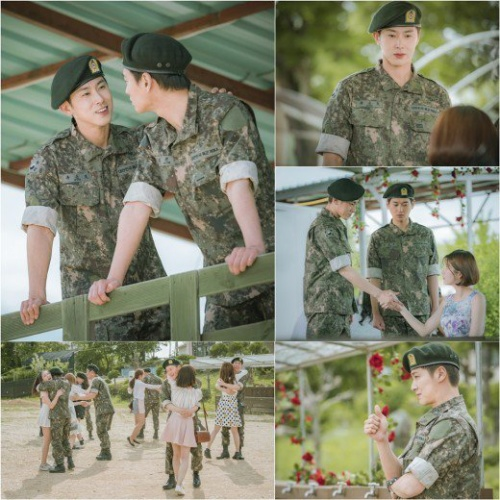 Yunho (TVXQ) nhập ngũ trong phim mới, thần chết Song Seung Hun 'tự sướng' cùng đồng nghiệp ở hậu trường 'Black'