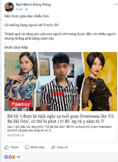 Diễm My 9x (Cô Ba Sài Gòn) đanh thép: Không nên cổ xúy livestream phim rạp, đây là hành động đáng bị xã hội lên án - Ảnh 8.