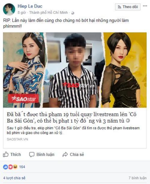 Diễm My 9x (Cô Ba Sài Gòn) đanh thép: Không nên cổ xúy livestream phim rạp, đây là hành động đáng bị xã hội lên án - Ảnh 7.