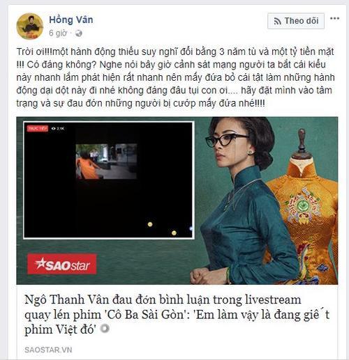 Diễm My 9x (Cô Ba Sài Gòn) đanh thép: Không nên cổ xúy livestream phim rạp, đây là hành động đáng bị xã hội lên án - Ảnh 6.