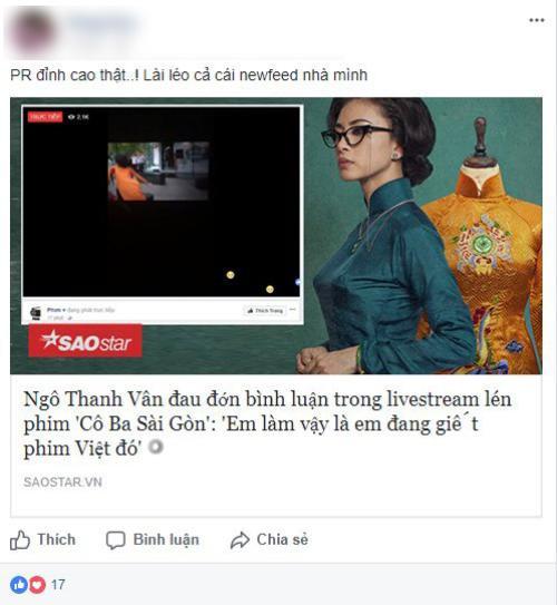 Đối tượng livestream phim Cô Ba Sài Gòn cho rằng mình bị lợi dụng để PR? - Ảnh 4.