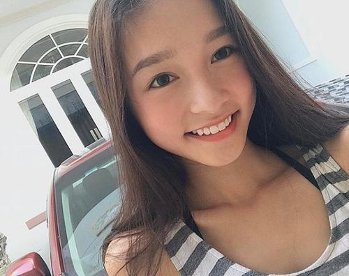 Nữ sinh 2001 gây chú ý vì đôi môi cong 'siêu nũng nịu' - ảnh 9