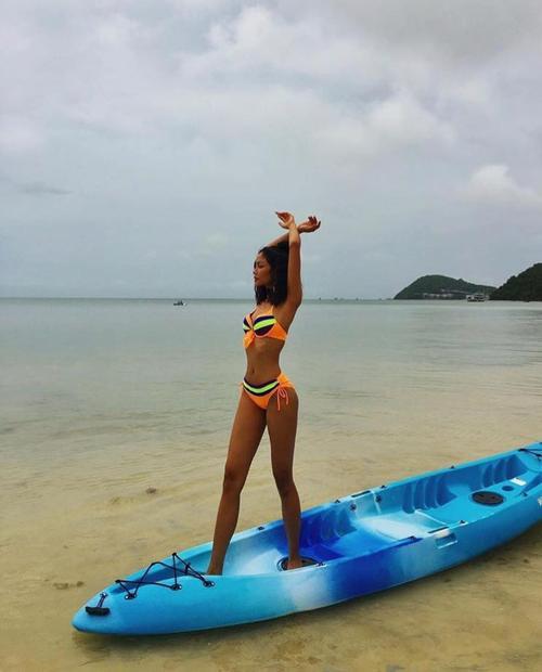 Ngất ngây với thí sinh có body đẹp nhất Hoa hậu Hoàn vũ Việt Nam 2017