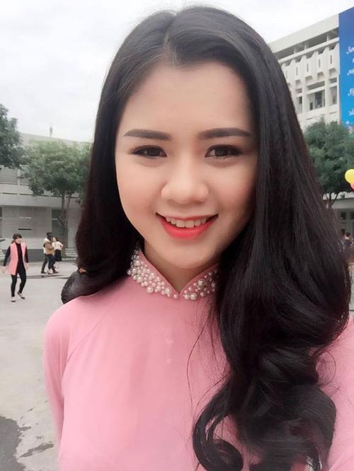 Cận cảnh vẻ đẹp Hoa khôi Đại học Vinh sắp lên xe hoa cùng soái ca Quế Ngọc Hải - Ảnh 3.