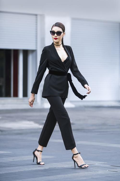Cách diện menswear của 'trùm vest' Thanh Hằng, Minh Tú đang được mỹ nhân Vbiz ứng d - ảnh 9